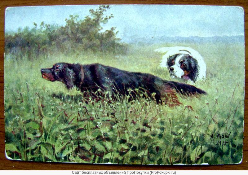 А. Мако «По фазанам».1901 год