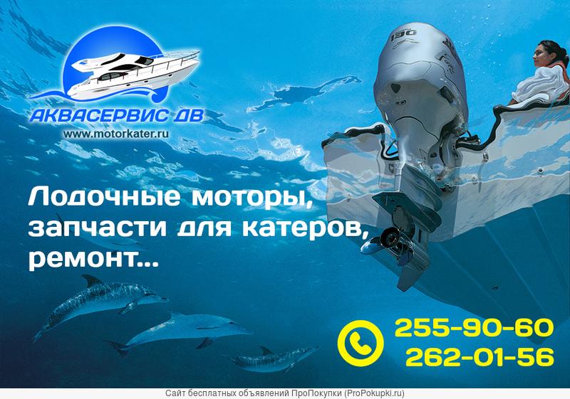 Качественный ремонт подвесных лодочных моторов во Владивостоке