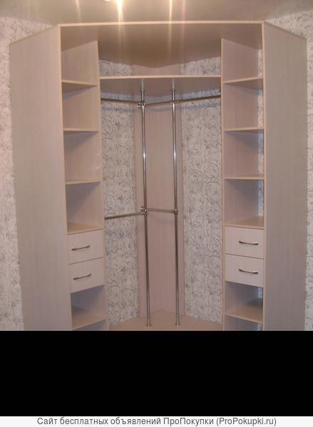 Шкафы купе и гардеробные по индивидуальным размерам