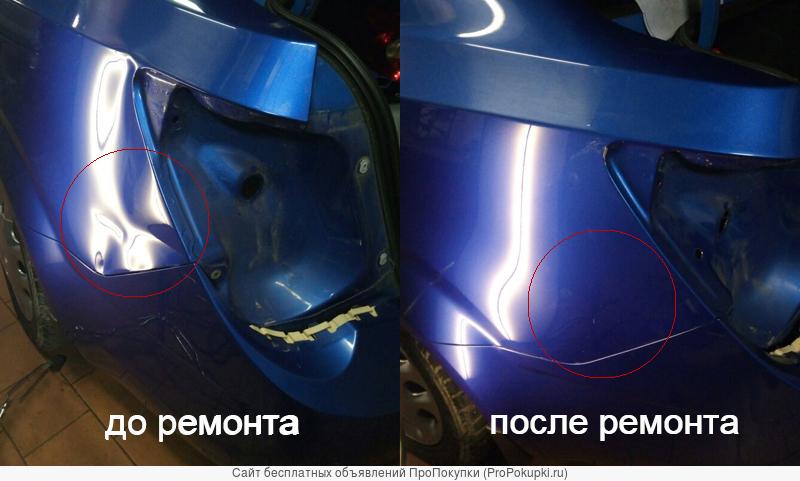 Кузовной ремонт без покраски предоставляет техцентр