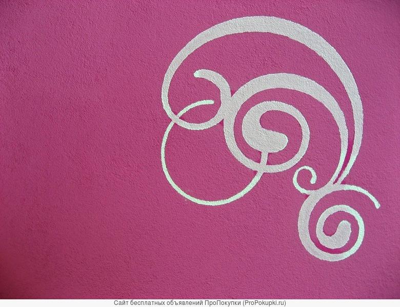 Окраска фасадов фактурной краской