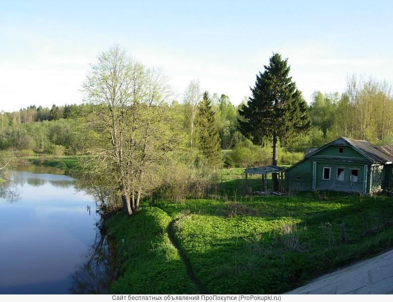 Продам земельный участок на берегу реки