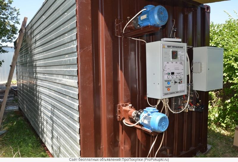 Оборудование и установки для производства термодревесины