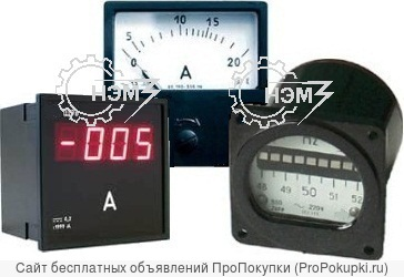 Амперметр, вольтметр, частотомер