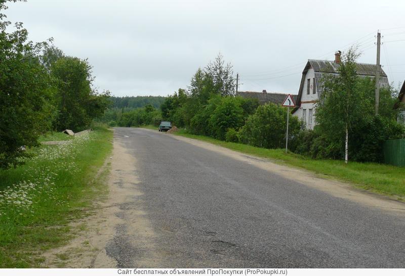 Теплый дом в деревне с коммуникациями. Дмитровское шоссе.