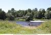 Участок в деревне у реки север подмосковья. 10 соток ИЖС,ПМЖ