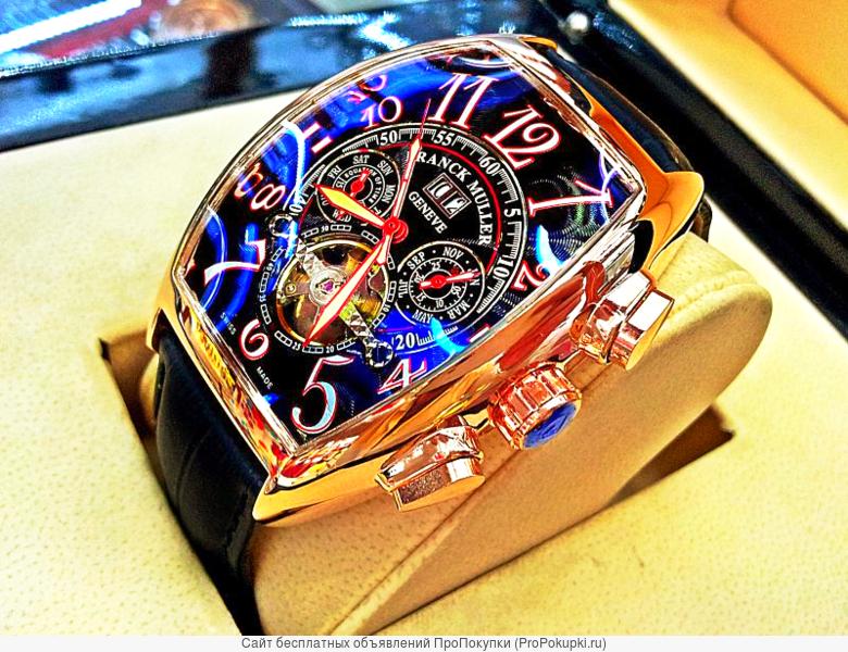 Швейцарские Часы Franck Muller Geneve Tourbillon