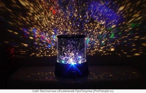 светильник Звёздное Небо- многоцветное волшебство