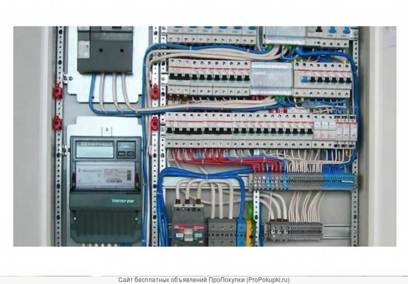 Электромонтажные работы, услуги профессионального электрика