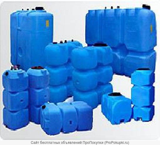 Универсальные пластиковые емкости (танки)