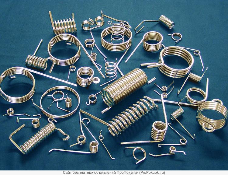 Пружины и изделия из металла