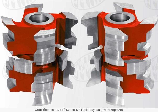 Комплект фрез для профилированного стенового бруса 90-140 мм