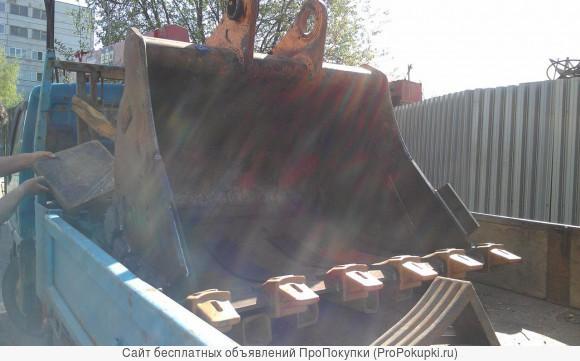 Ремонт навесного оборудования, ковшей и стрел экскаваторов
