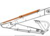 Ремонт гидроцилиндра рукояти Hyundai R250LC-7 арт 31N7-60110