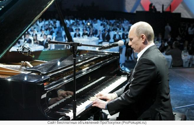 Уроки игры на фортепиано и синтезаторе