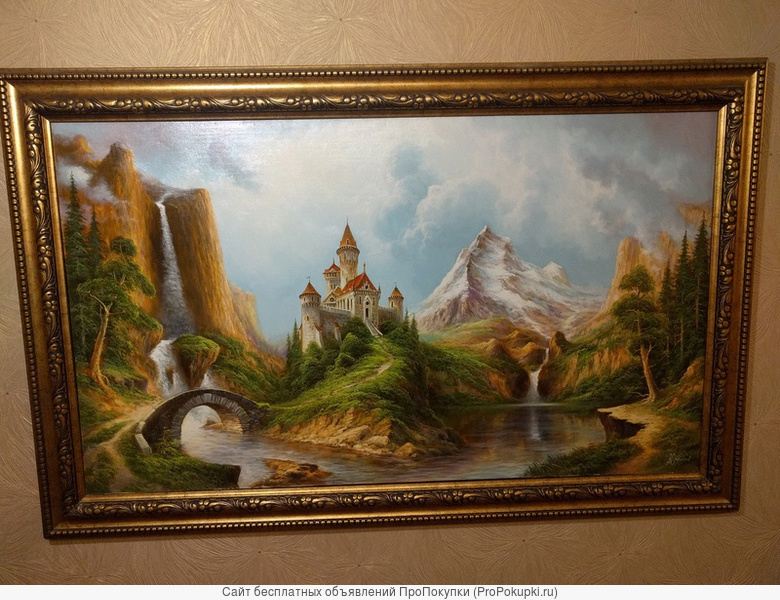 Картина масло холст художник А.Стрелков