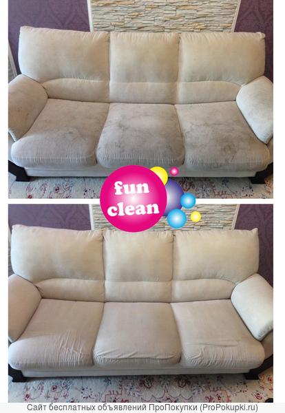 Химчистка мягкой мебели и коврового покрытия