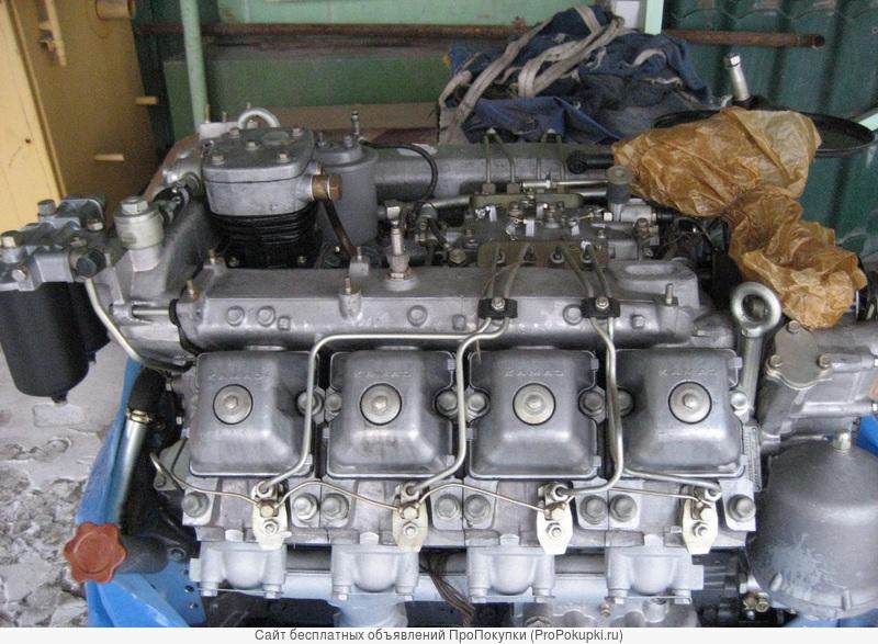 Двигатель Камаз 740.30, 740.31, 740.61, Зил 130