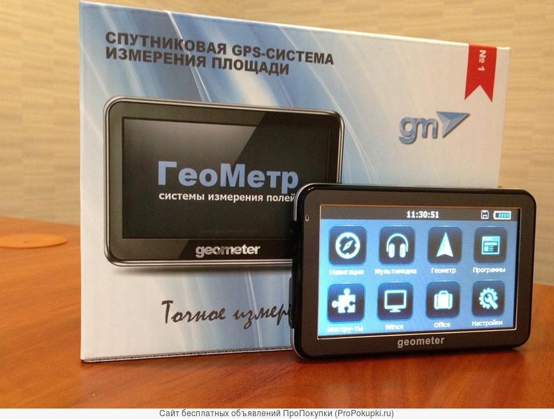 Обмер полей с использованием GPS-навигации – ГеоМетр S5 new