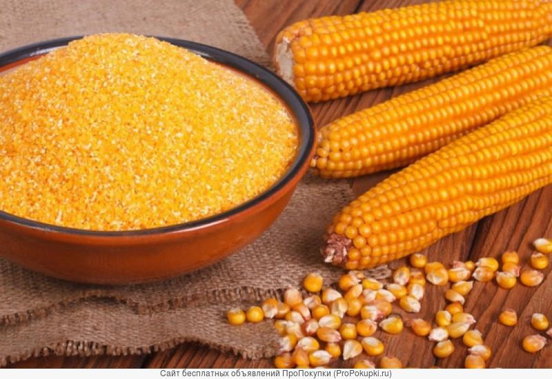 Продам кукурузную крупу № 3, 4, 5