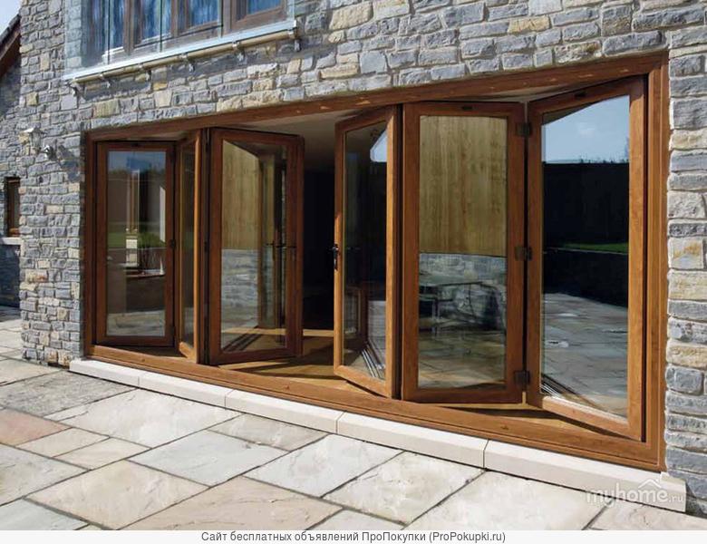 Двери раздвижные портальные складные поворотные изготовление монтаж, ремонт