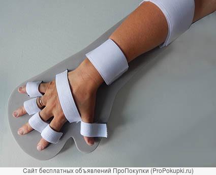 Фиксатор (тутор) для руки и пальцев после инсульта
