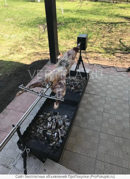 Разборный вертел для жарки барана
