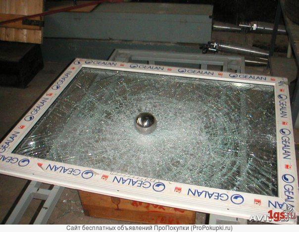 Бронирование стекла