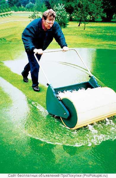 Лужи на спортивных и садовых покрытиях, как убрать ? ( BOW DRY)