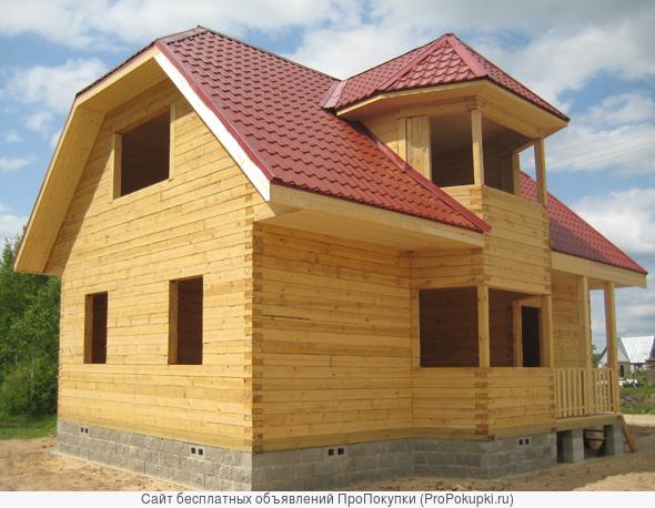 Строительство домов из бруса в Тюмени. Цена лучшая .