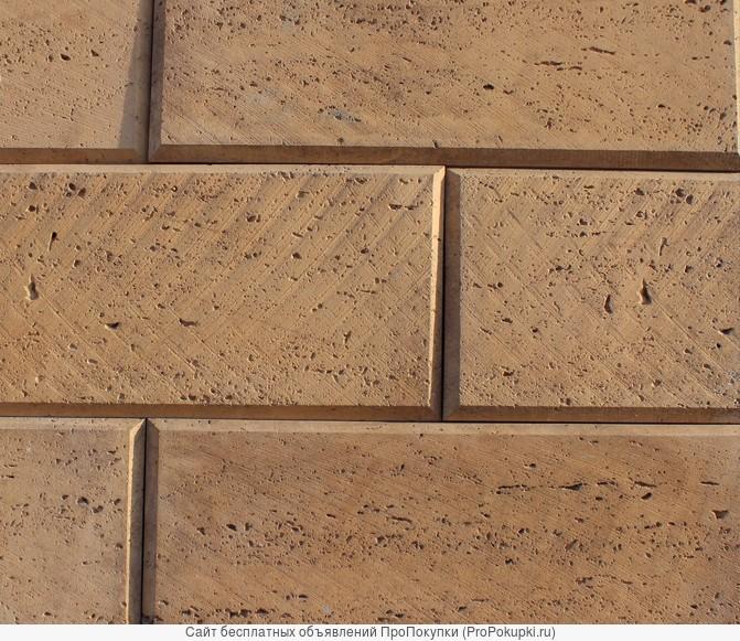 Форма для камня, Турецкий травертин