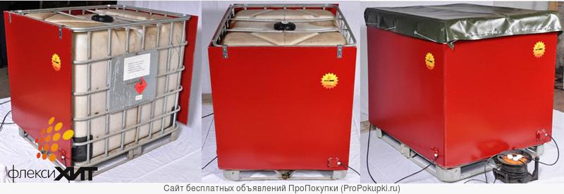 Термокассеты для разогрева сырья в еврокубах