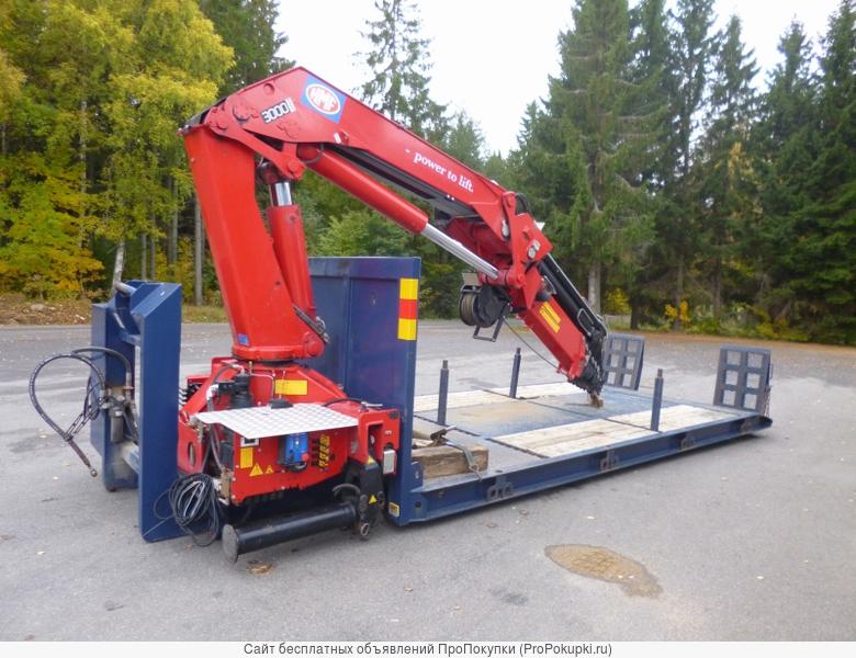 Сменное оборудование – 6 вариантов на 1 грузовик