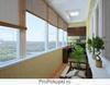 Евроремонт балкона. Натуральное дерево