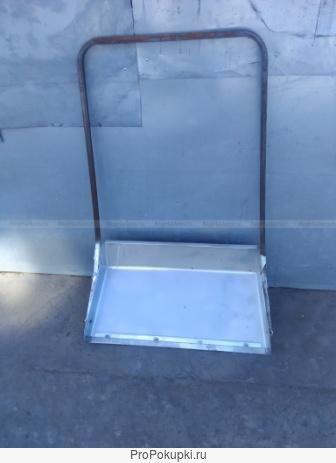 Скребок для уборки снега алюминиевый