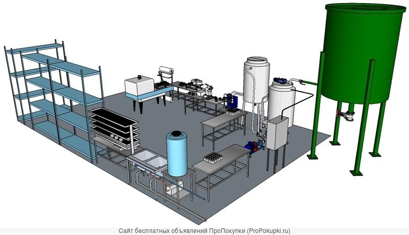 Производство сапропелевого противоцеллюлитного геля