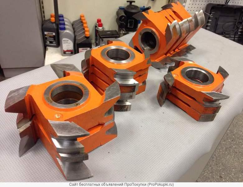 Фрезы для профилированного бруса (финский профиль) 90-240 мм