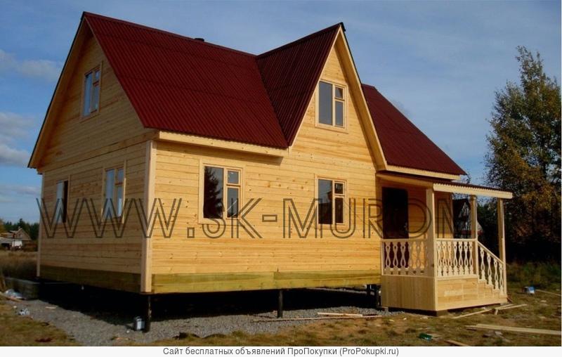 Каркасный дом.Строительство