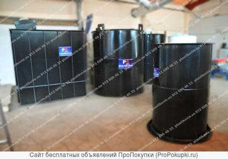 Резервуары, емкости, баки из полипропилена