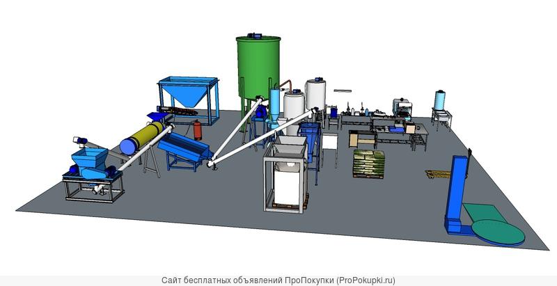 Производство удобрений из минеральных отходов, органики и донного ила