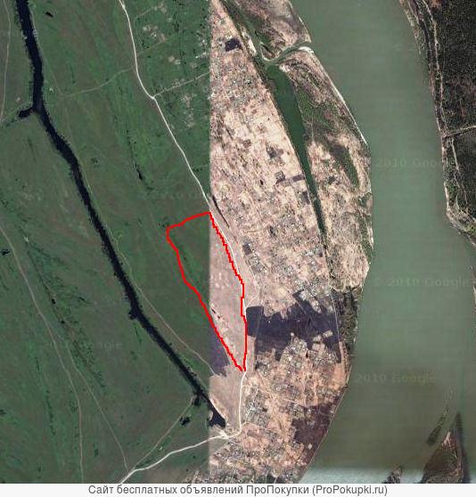 Участок 17,3 Га (1730 соток) пос. Рыбачий Новосибирск