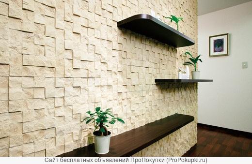 Внутренняя отделка декоративной плиткой под кирпич