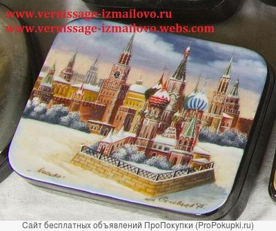 Russian art and souvenirs./ Русская живопись и сувениры