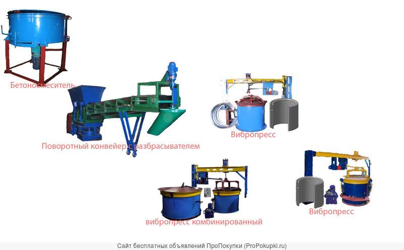 Документация(чертежи) по изготовлению оборудования для ж/б колец