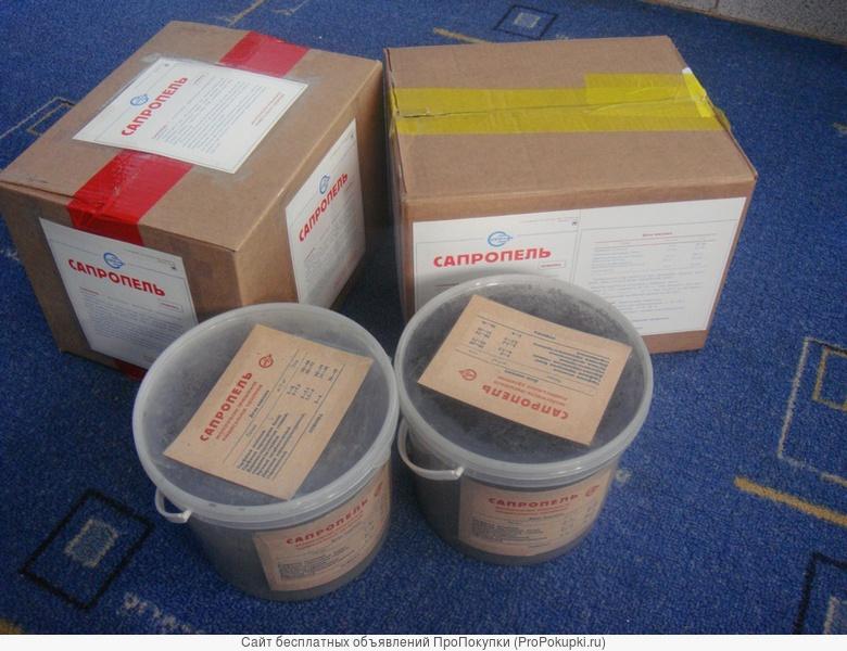 Сыпучие удобрения из сапропеля в дозированной микроупаковке