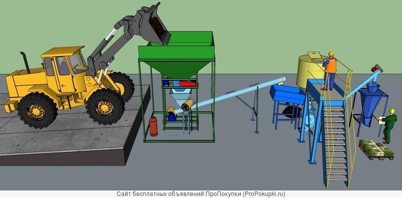 Минизавод производства торфо-сапропелевых удобрений