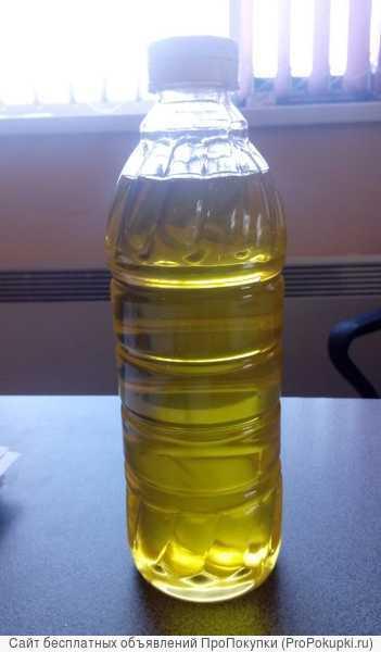 Масло подсолнечное из очищенной семечки холодный отжим