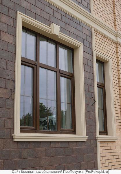 Фасадная лепнина из пенополистирола от ростовского производителя
