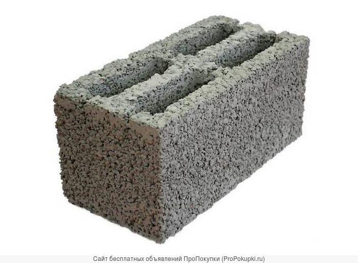 Стеновой перегородочный керамзитобетонный блок