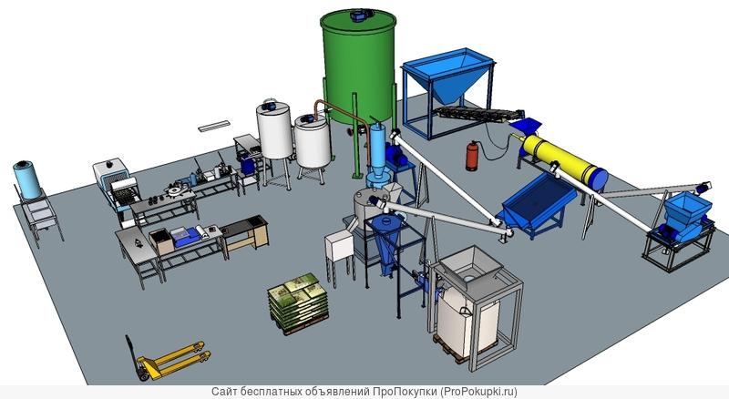 Проект и оборудование производства удобрений из диатомита